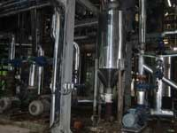 Hệ thống ống dẫn hơi nhiệt nhà máy
