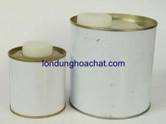 Bao bì kim loại nắp nhựa trắng