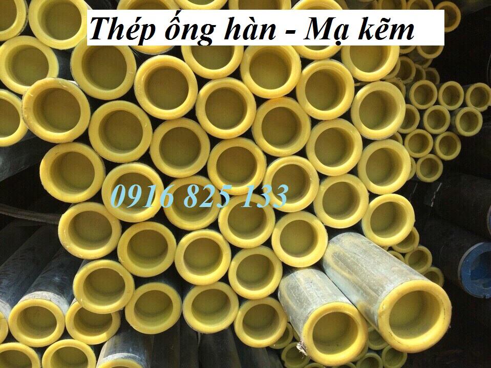 Thép ống hàn mạ kẽm