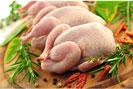 Thịt gà tươi sống