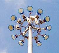 Chân trụ đèn gang
