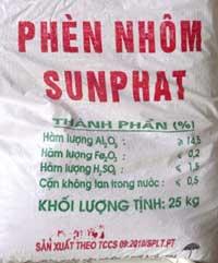 Phèn nhôm Sunphat
