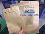 Túi Zipper giấy có cửa sổ