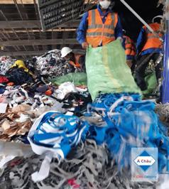 Xử lý chất thải công nghiệp may mặc