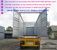 Container cắt nóc 40feet