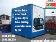 Container lạnh 10feet