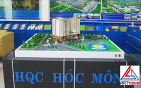 Mô hình chung cư hqc Hóc Môn