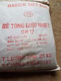 Bê tông chịu nhiệt CR17