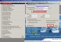 Phần mềm lập bộ chứng từ đăng ký tờ khai hải quan