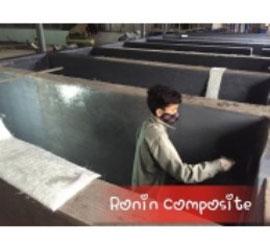 Bọc Composite bể sơn tĩnh điện