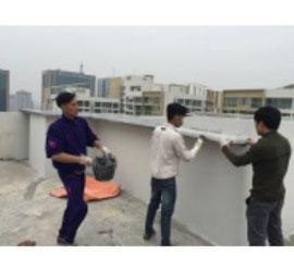 Bọc Composite chống thấm mái nhà
