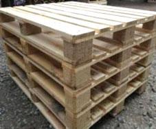 Pallet gỗ cũ 4 hướng nâng
