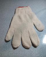 Găng tay sợi màu kem