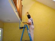 Thi công sơn nhà