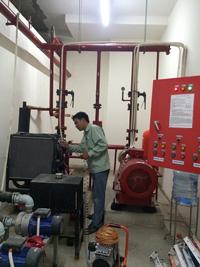 Vệ sinh bảo trì phòng máy bơm