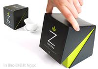 In hộp giấy đựng trà