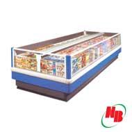 Tủ đông lạnh quầy siêu thị dài