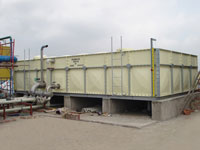 Bể chứa nước composite