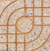 Gạch Terrazzo 40x40 QP1 màu vàng