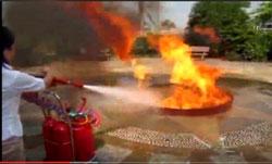 Xe đẩy bình chữa cháy