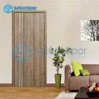 Cửa gỗ MDF Laminate LP1R2-Walnut