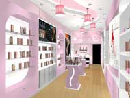 Showroom mỹ phẩm