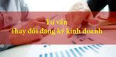 Tư vấn thay đổi đăng kí kinh doanh