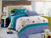 In drap giường gối