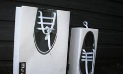 In túi giấy đựng giày