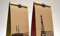 In túi giấy đựng cafe