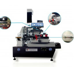 Máy cắt dây DK7725