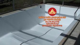 Bọc phủ Composite bể bơi