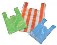 Túi nylon túi xếp có màu