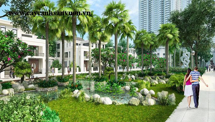Thiết kế cảnh quan khu đô thị
