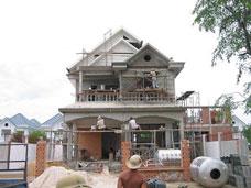 Xây dựng nhà phố biệt thự