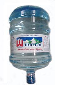Nước uống Waterman đóng bình