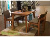 Bàn ghế gỗ công nghiệp