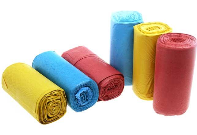 Túi rác màu
