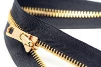 Dây khóa kéo răng vàng