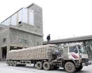 Vận tải hàng vật liệu xây dựng