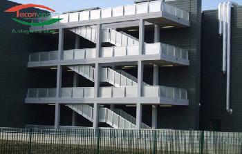 Thiết kế cầu thang thoát hiểm
