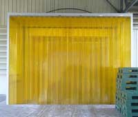 Màn PVC ngăn côn trùng