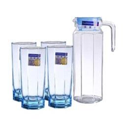 Bộ bình ly cốc thủy tinh