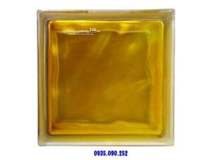 Gạch kính màu vàng