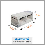 gạch block 2 lỗ