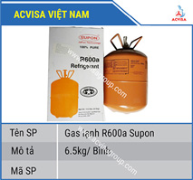 Gas lạnh R600a Supon