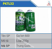 Gas lon 600 loại 220g PKTL32