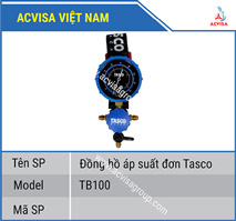 Đồng hồ áp suất đơn Tasco