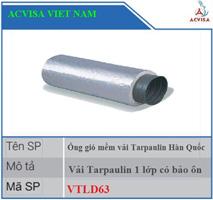Ống gió mềm vải Tarpaulin PVC có bảo ôn