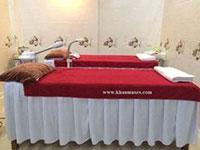 Khăn phủ giường spa